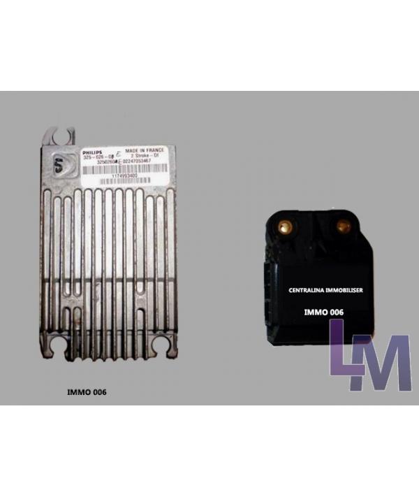 Magneti marelli imm003   immobox imm006 con28 pin mc68hc05e6 (0f82b, 0g72g, 2f75b) mcu